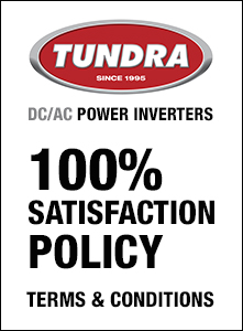 DC/AC POWER INVERTERS / 100% SATISFACTION POLICY / TERMS & CONDITIONS