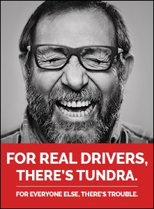 FOR REAL DRIVERS, THERE'S TUNDRA / NEW CORPORATE FLYER